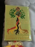 Vintage 1990 Oregon Pin Wilshire Little League District 1 Children Of The World