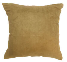 Mg10a Latte Soft Faux Micro Suede Fabric Cushion Cover/Pillow Case*Custom Size*