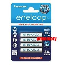 Panasonic Eneloop 800mAh AAA Rechargeable Recharge Battery BK-4MCCE/4BH JAPAN