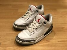 Mens Jordan 3 White Cement Grey retro 2011 size 8.5 3 4 5 6 7 11 13 (can fit 9)