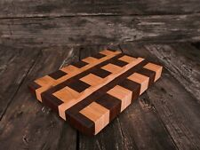 End grain, cutting board, Christmas gift, serving board, food, kitchen, handmade