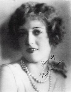 MARION DAVIES+envoi /autographe-1897/1961-datée 08/1925-MELROURNE SPUR HOLLYWOOD