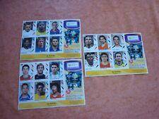 PANINI 2006 WORLD CUP ROOKIE STICKERS -RONALDO, ROONEY ,DROGBA,RAUL, TOTTI