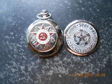 """Molnija Russische Taschenuhr, Handaufzug, """"Defekt !!!"""