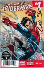 AMAZING SPIDER-MAN #1 DF DYNAMIC FORCES SIGNED SLOTT COA 2014 SILK MOVIE MARVEL