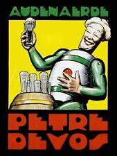 Audenaerde Petre Devos Robot Advertisement Poster Poster - 12x16