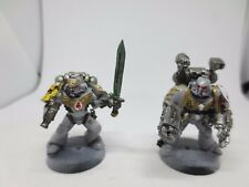Warhammer 40K x5 Forge World Space Marine Red Scorpions Honour Guard Bolters