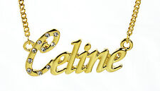 18K Gold Plated Necklace With Name CELINE - Gifts For Her Deisgner Personalised