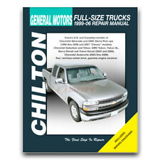 Chilton Repair Manual for 2001-2006 Chevrolet Silverado 1500 HD - Shop uc