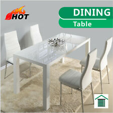 NEW White Hi High Gloss Modern Dining Table Top 150cm
