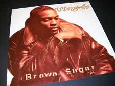 D'Angelo 2-sided 1995 Promo Decorator Flat from Brown Sugar mint condition