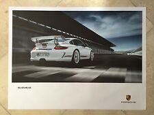 Porsche Original Factory Poster-2012 911 | 997 Carrera GT3 RS 4.0-Rear Rt Shot
