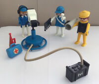 Playmobil Vintage TVI  Studio Crew 3531