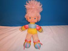 Vintage Rainbow Brite Doll, Pink Hair, 1983