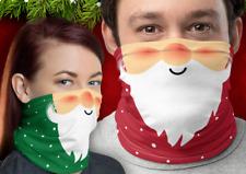 XMAS SANTA CLAUSE FATHER CHRISTMAS FACE COVERING MASK SNOOD BANDANA UK SELLER