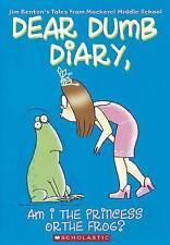 Am I the Princess or the Frog? (Dear Dumb Diary), Jim Benton, New Book