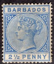 BARBADOS 1882/5 STAMP Sc. # 62 MH