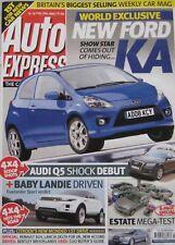 Auto Express magazine 13-19 February 2008 featuring Toyota, Range Rover