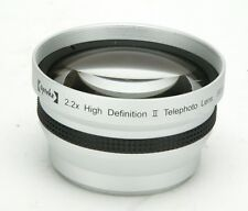 Opteka 2,2x HD (High Definition) II Telephoto Lens With 58mm Thread. Clean.