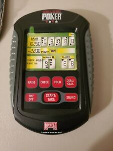 World Series of Poker Texas Hold Em Hand Held Game Bicycle 30437 2009