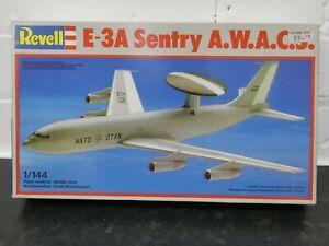 Revell 4422 E-3A Sentry A.W.A.C.S. 1:144 Model Aircraft Kit Unbuilt 1982 New