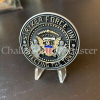 D11 NYPD STRYKER FORCE ONE TRUMP TOWER DETAIL CHALLENGE COIN