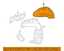 TOYOTA OEM Exhaust Manifold-Insulator Left 171680P020