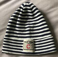 8c280055ffdaf Brand New H M Blue Striped Knitted Beanie Hat. Age 4-8 Years