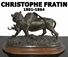 bronze animalier fin XIXème signé Fratin