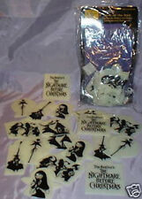 NECA Nightmare Before Christmas CEILING STARS Glow in Dark 18 pcs NBX Jack Sally