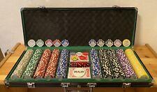 Pokerkoffer Pokerset Poker Set 500 Chips Alu Koffer Jetons Sharks Club