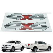Off Road Sticker Logo 4x4 Gray Decal For Mitsubushi L200 Triton 2015 2017 4x4