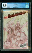 CGC 9.6 RUNAWAYS #1 MARVEL 2005 LIMITED EDITION VARIANT 1ST VICTOR MANCHA LONERS