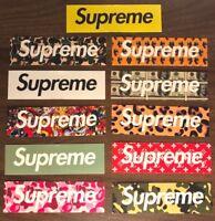 50 PCS SUPREME MIXED STICKERS  Skateboard # Logo # Sticker # Decal #
