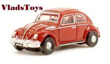 Oxford 1:148 N Gauge VW Volkswagen Beetle Bug  Ruby Red NVWB002