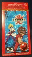 Bakugan Battle Brawlers ● Valentine's Day ● Manga Anime ● 35 Cards ● 34 Tattoos