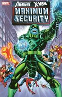 Maximum Security Cosmic Avengers by Busiek Jurgens Kubert JR JR Marvel TPB OOP