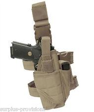 Condor TTLH Tornado Tactical Leg Holster Tan Adjustable for M to L pistol