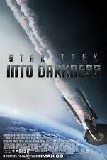 Star Trek Into Darkness Poster Movie - Chris Pine, Zachary Quinto, Zoe Saldana