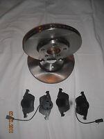 FRENI ANTERIORI dischi + pastiglie per AUDI A4 serie B5 B6 B7 e AUDI A6