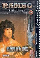Rambo III DVD 2002 Trilogy Sylvester Stallone cert 18 FREE POSTAGE