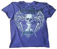 Amplified SAINTS & SINNERS GOTHIC Púrpura Estrás Rock Star Diseñador VIP