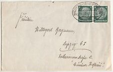 Brief 1935 Bahnpost Leipzig - Döbeln - Dresden Zug 1508 !