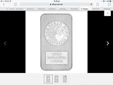 Kangaroo Perth Mint Bar 1oz .9999silver