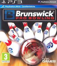 SONY PS3  BRUNSWICK  PRO BOWLING