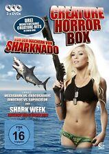 Shark Week, Mega Shark vs Crocosaurus, Dino Croc vs Supergator, x3 Dvds -
