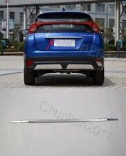 Chrome Tail Rear Trunk Lid Cover Molding Trim for 17-19 Mitsubishi Eclipse Cross