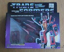 G1 Transformers Decepticon Seeker empuje completo todavía sellado de fábrica Rara Y En Caja Sellada