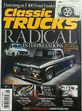 Classic Trucks Aug 2016 Radical Interpretations Customs Dodge FREE SHIPPING sb