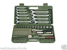 METRINCH Socket key & Ring spanner set Metric Inch Tool MET-0563